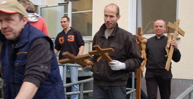 Umzug in Wadersloh: Alle müssen mit. (Foto: SMMP/Bock)