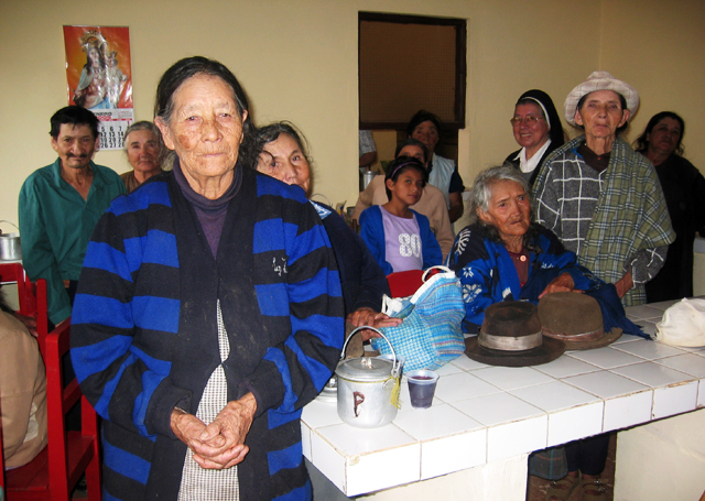 Senioren in Vallegrande, Bolivien