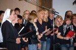 Auch ein Projektchor aus Schwestern und Mitarbeitern des Bergklosters wurde für den 23. August ins Leben gerufen.