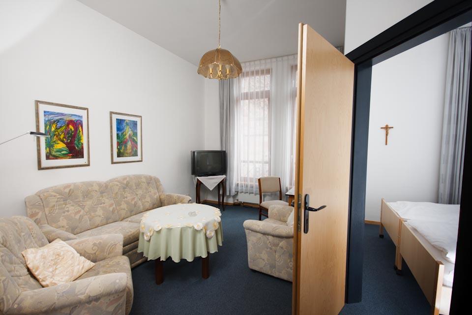 Doppelzimmer/Apartment im 2. OG des Bergklosters Heiligenstadt
