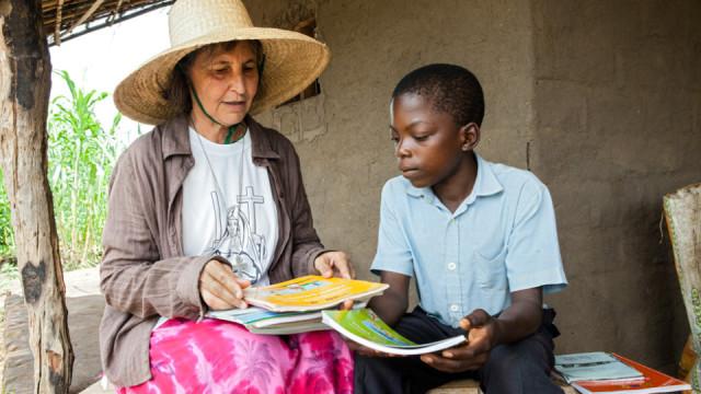 Über Grenzen gehen - so lautete das Lebensmotto von Schwester Placida Viel. Auch heute überqueren die Schwestern Grenzen: Die Niederlassungen in Mosambik wurden beispielsweise von den brasilianischen Schwestern der deutschen Ordenskongregation gegründet. Foto: Achim Pohl