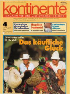 kontinente im April 1997. In der Titelgeschichte geht es um den aufkommenden Sex-Tourismus.