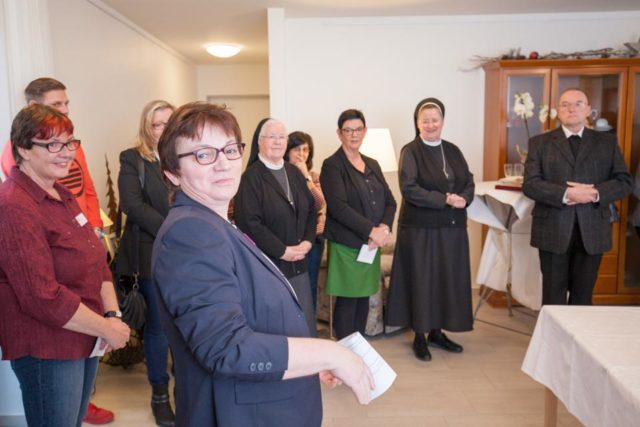 Hausmanagerin Agnes Wüller freut sich über reges Interesse an der Senioren-WG in Heiden und Umgebung. (Foto: SMMP/Beer)