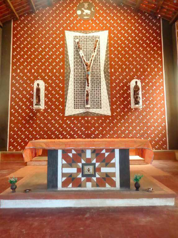 Kirche in Maiaca. (Foto: Lehmeier/SMMP)