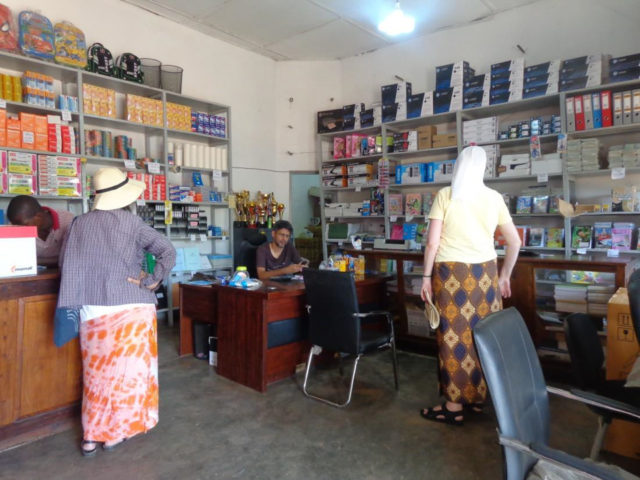 Schreibwarenladen in Cuamba. (Foto: Lehmeier/SMMP)