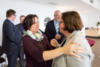 Viele Mitarbeiterinnen und Mitarbeiter der Seniorenhilfe SMMP haben viele Jahre mit Andrea Starkgraff zusammengearbeitet. Foto. SMMP/Beer