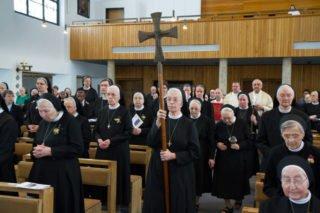 Feierlicher Einzug zum Festgottesdienst in der Dreifaltigkeitskirche. Foto: SMMP/Bock