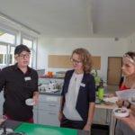 Und Michaela Bertelt von den Servicediensten hatte gab Anregungen für die Ernährung.