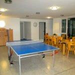Tischtennisplatte im Haus der Begegnung.