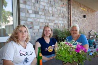 Die Alltagsbegleiterinnen der Senioren-WG St. Lambertus freuen sich schon auf ihren Einsatz. (Foto: SMMP/Beer)