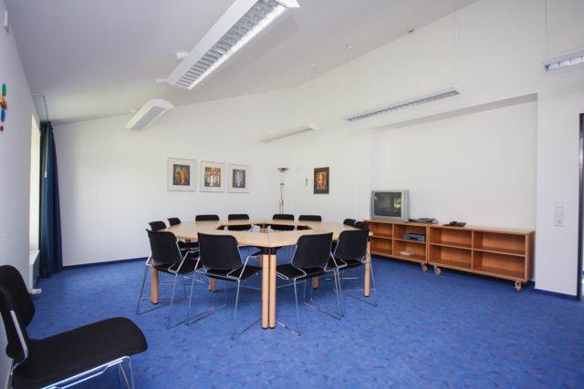 Seminarraum Klosterpark: Platz für 12 Personen