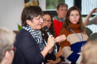 Sabine Stephan ist jetzt auch in Deutschland an den Rändern der Gesellschaft tätig: Sie begleitet Jugendliche in der Manege in Berlin. Foto: SMMP/Ulrich Bock