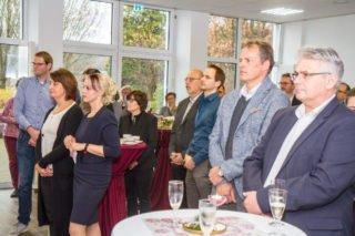 60 meist langjährige Wegbegleiter nahmen an der Abschiedsfeier für Ida Knecht teil. Foto: SMMP/Ulrich Bock