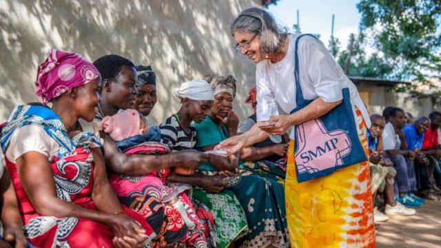 Schwester Leila de Souza e Silva in Mosambik. Derzeit findet sie von Brasilien aus neue Wege, die Ordensausbildung angesichts der Cotrona-Situation neu zu gestalten. Foto: SMMP/Florian Kopp
